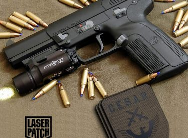 cesar_airsoft_olive_moralepatch_laser_patch